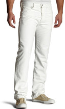 NEW LEVI'S 501 MEN'S ORIGINAL STRAIGHT LEG JEANS BUTTON FLY WHITE 501-0651