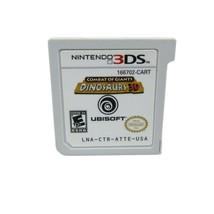 Combat of Giants Dinosaurs 3D Nintendo 3DS 2011 Video Game Cartridge Onl... - $11.87