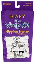 Pressman Diary of a Wimpy Kid Card Game - Flipping Frenzy, Multi Color - $5.69