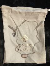 Kendra Scott Elisa Pendant Necklace for Women Light Pink Drusy - $49.95