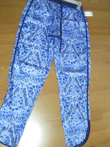 DEREK LADIES SIZE S LIGHT WEIGHT PANTS BLUE NWT - $15.99