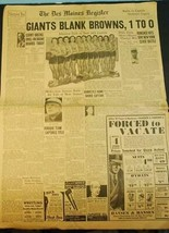 March 13, 1935 Des Moines Register Newspaper Iowa Outer Cover - $7.91