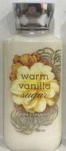 Bath & Body Works Warm Vanilla Sugar Shea & Vitamin E Body Lotion 8 Fl oz 236 ml - $18.00
