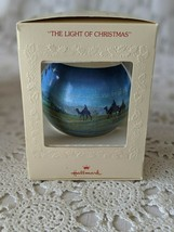 Hallmark The Light Of Christmas Tree Trimmer Ornament 1979 - $12.60