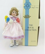 "Vintage ""Shelby"" Porcelain BIRTHDAY Doll The Royal Collection by Margie ... - $23.99"
