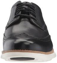 Nuevo Hombre Cole Haan Original Grand Shortwing Negro Marfil De Zapatos Talla 10 image 3