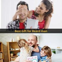 Beard Derma Roller for Men's Beard Growth + Beard Serum Oil + Beard Balm Wax + C image 7