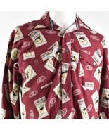 Jack Daniel's Snap Down Whiskey Mittelgroß Ls Shirt - $41.56