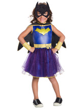 Rubie's Costume 630881 Girls Dc Comics Deluxe Batgirl Costume, Medium, M... - $53.49