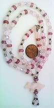 Rose Quartz Gemstone Necklace - $27.24