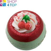 CHERRY ON TOP BATH BLASTER BOMB COSMETICS APPLE LIME HANDMADE NATURAL NEW - $5.83