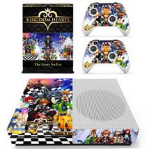 Xbox one S Slim Console Skin Vinyl Decals Stickers Kingdom Hearts KH Sora Skins - $12.40