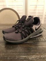 NIKE SHOX GRAVITY Running Shoes Black Grey Sneakers AR1999 011 Mens Size... - $74.25