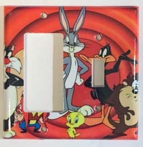 Looney Tunes Bugs Bunny Tweety Toggle Outlet Light Switch wall cover plate decor image 5