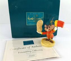 Walt Disney Classics Collezione WDCC Timoteo Mouse Amicizia che Offre 1998 - $29.75