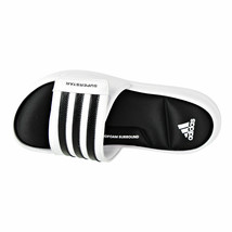 ADIDAS SUPERSTAR SURROUND MEMORY FOAM SLIDE SANDALS MEN SHOES WHITE SIZE 15 NEW image 2