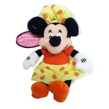Disney Collectible Minnie Mouse Plush Pal with Faux Rose Austrian Crystal Octobe - $26.99