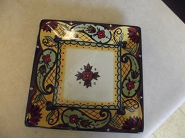 Corsica square salad plate 1 available - $3.91