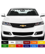 "Chevy Impala Windshield or Rear Window Decal 4"" x 40"" Choose Color ! Buy... - $14.98"