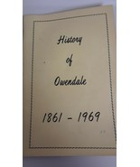 History of Owendale Michigan 1861 - 1969  Genealogy Rare Research Family History - $69.25
