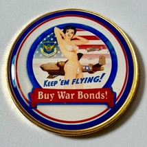 United States Air Force World War II War Bonds Challenge Coin - US SELLER - $16.44
