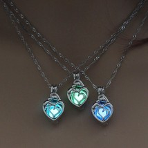 Necklace Jewelry For Women Hollow Luminous Necklace Pendant Gifts Fashion - $4.99
