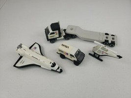 Tonka Tough Ones NASA Space Shuttle Gift Set #1039 Dated 1985 All 5 Toys! No Box - $38.50