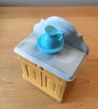 70s Avon Washstand and Pitcher foaming bath oil bottle (Charisma) image 3