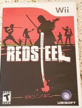 Nintendo Wii Red Steel Rated T 2006 Includes Instruction Booklet Great C... - $14.36