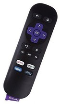 TV Remote Replacement Lost Controller Streamer Quality Control Ruku Blac... - $8.11