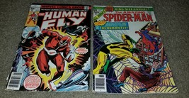 2 Marvel Comic Amazing Spider-man 10 Annual 1st App Human Fly Solo bronz... - $0.99
