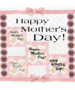 Happy Mother's Day 1-Digital ClipArt-Gift Tag-Scrapbook-Banner-Gift Card.  - $3.99