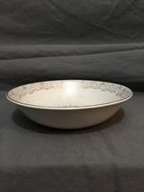 """Vintage Bonjour by Salem 23 Karat Gold Trim 9"""" Serving Bowl - $15.39"""