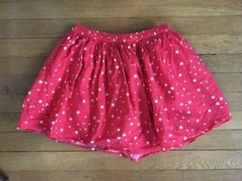 * Gap Kids red white star print americana patriotic skirt size large 10 ... - $9.90
