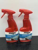Lot Of 2 Magic Countertop Cleaner Spray With Stay Clean Technology 14 Oz - $59.39