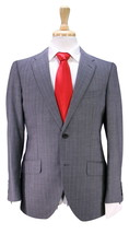 * TIMOTHY EVEREST * London Gray Woven w/ Purple Pinstripe 2B Modern Fit ... - $175.00