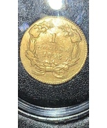 1856 $1 Liberty Large Head One Dollar Gold Coin, Type 3, Slanted 5 - $310.00