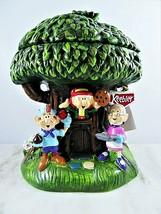 Keebler Millennium Elf Cookie Jar Hollow Tree First Edition Year 2000 #4... - $84.15