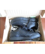 BNIB Reebok Royal Ace men's sneakers, black, size 8.5, lace up, $65 - $44.55