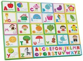 "Pingo World 0722Q9SKFFM ""Alphabet Letters I Children Kids"" Gallery Wrapp... - $43.51"
