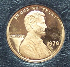 1978-S Proof Lincoln Memorial Penny #01138 - $0.99