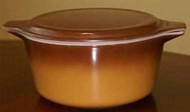Vintage Pyrex Old Orchard 1.5 Quart Brown Cinderella Casserole Dish 474-b - $29.99