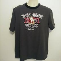 Embroidered Disney Park T Shirt 1971 Grumpy Walt Disney World XL - $24.14