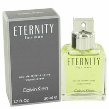 Cologne ETERNITY by Calvin Klein 1.7 oz Eau De Toilette Spray for Men - $27.08