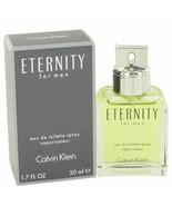 Cologne ETERNITY by Calvin Klein 1.7 oz Eau De Toilette Spray for Men - $27.08