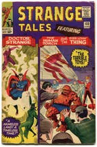 STRANGE TALES 133 FN- 5.5 Marvel Comics Volume 1 1965 Lee Ditko Torch Dr... - $39.59