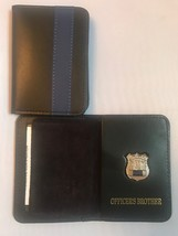 NY Police Officer Thin Blue Line Officer Brother Mini Shield  ID Wallet - 2018 - $22.28