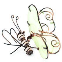 Butterfly w Glow in the Dark Wings Pot Edge Sitter on Hook Garden Decoration image 4