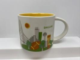 Starbucks Dallas Texas You Are Here Collection Coffee Mug Cup 14oz 2013 - $17.81