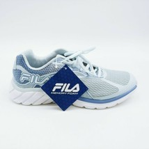 Fila Womans Primeforce 4 Lace Up Sneaker Pale Blue Memory Foam Insole Sz... - $21.45